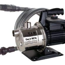 T.I.P. 30094 Gartenpumpe Cleanjet 1000 Plus mit Kit